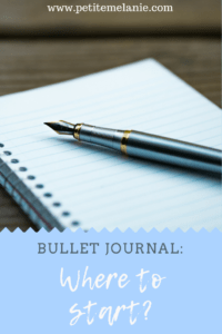 Bullet Journal: Where to start?