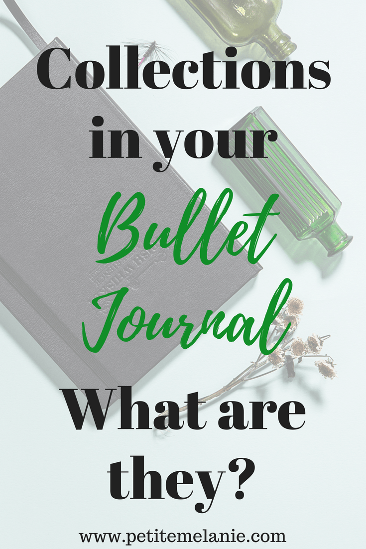 collections bullet journal