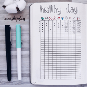 health tracker table collections