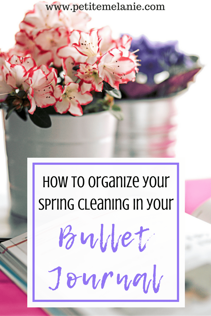 organize spring cleaning