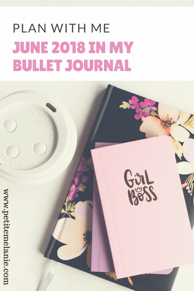 plan with me june bullet journal