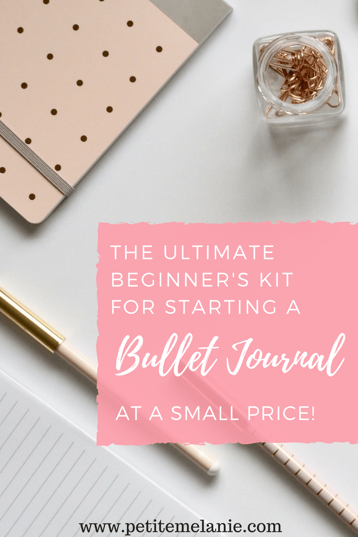 beginner's kit bullet journal