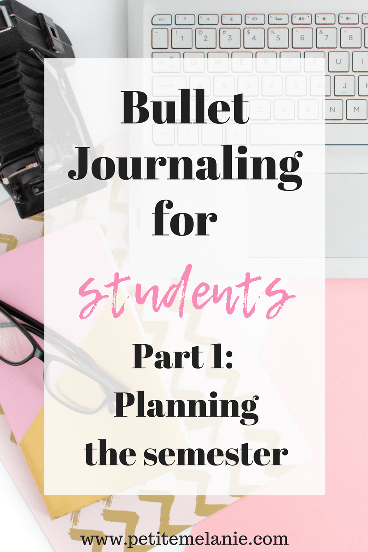 bullet journal students