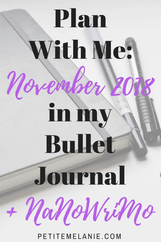 plan with me november 2018