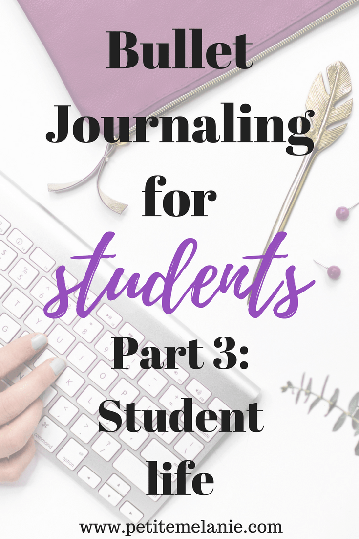 bullet journaling for students part 3