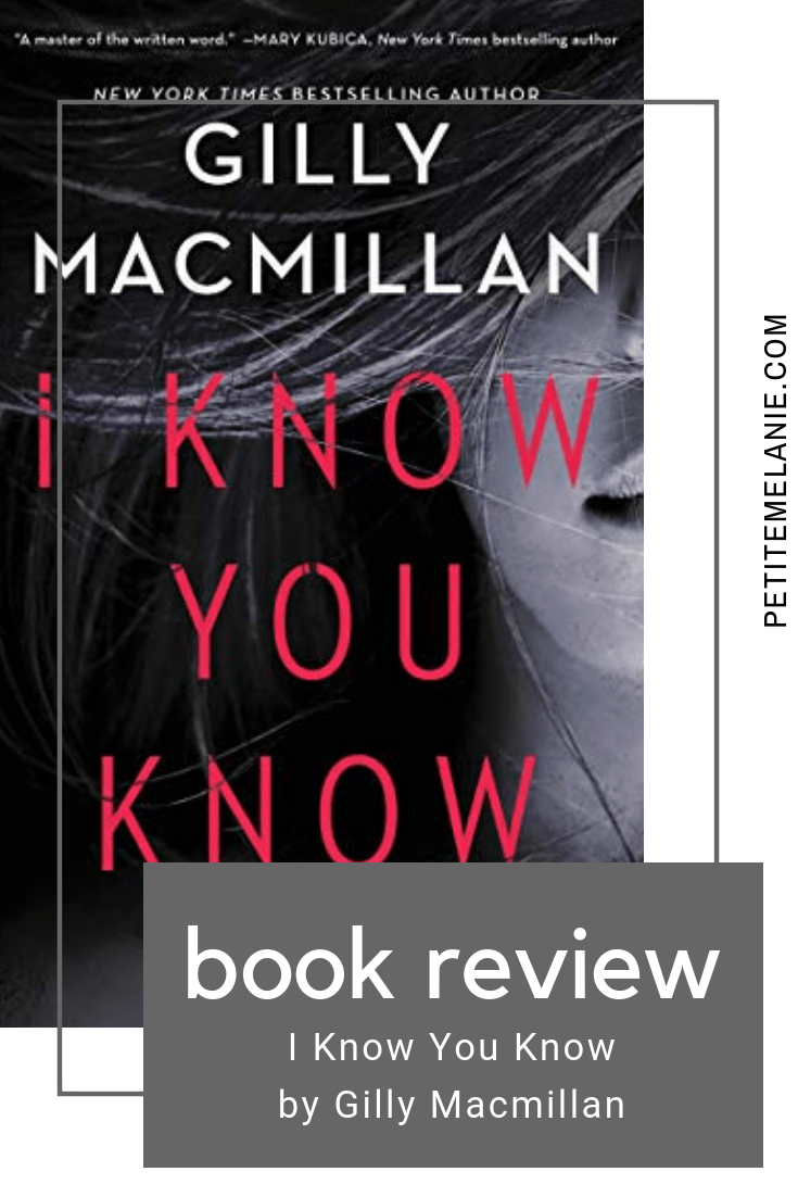 i know you know book review
