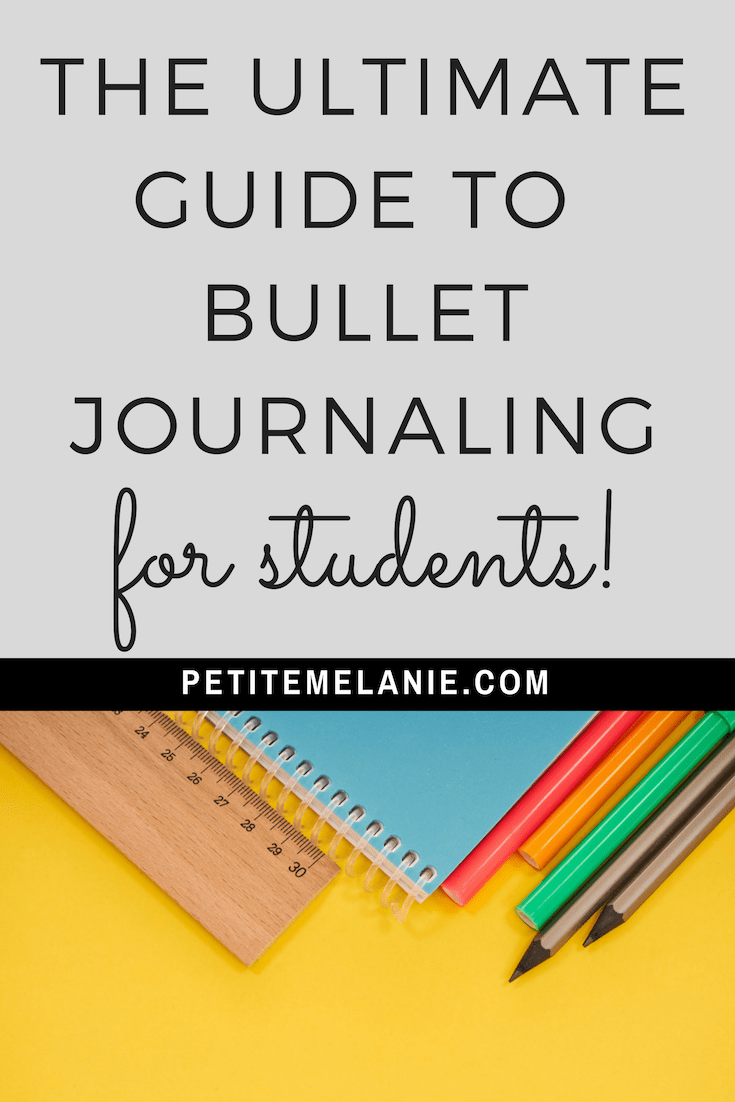 ultimate guide bullet journal students