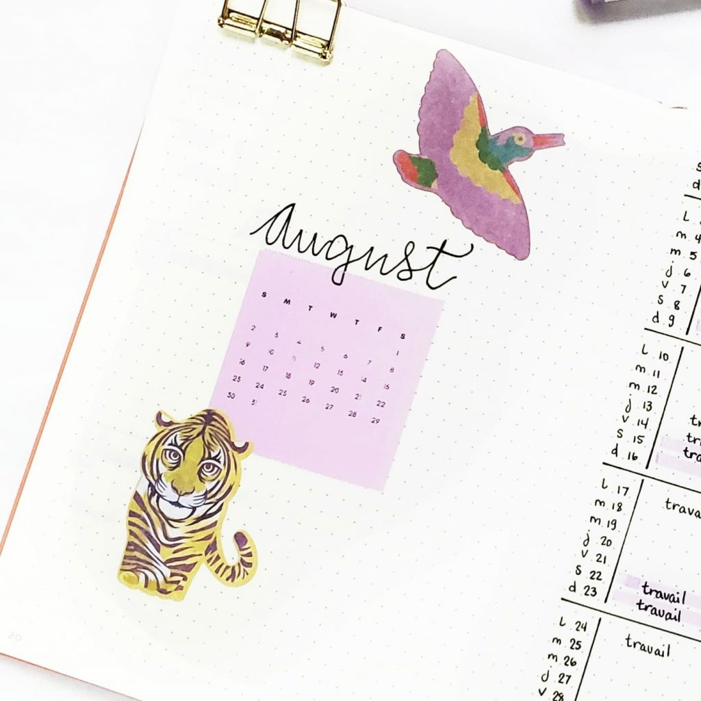 mini calendar monthly log page poooliprint